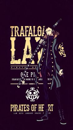 Trafalgar Law - One Piece One Piece Manga, Law One Piece, Trafalgar Law Wallpapers, Trafalgar D Water Law, One Piece Wallpaper Iphone, One Piece Pictures, The Pirate King, One Peace, Animes Wallpapers