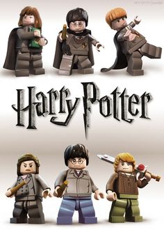 Lego Harry Potter. So glad it exists.