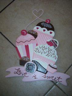 Cupcake Wall Decoration   eBay