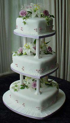 wedding cakes by Franziska-the malanie