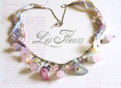 """necklace """"Les Fleurs"""""""