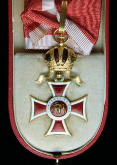Leopold Order, Commanders' Cross, H. 40mm, in case of issue.