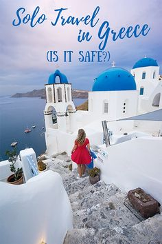 Greece is a great country for solo travel. From safety tips to accommodation, these must-read tips will help you plan your upcoming solo trip to Greece! #greece #greecetravel #greekislands #greecesafety