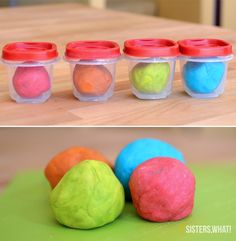 soft long lasting homemade play dough with oil and no cream of tartar