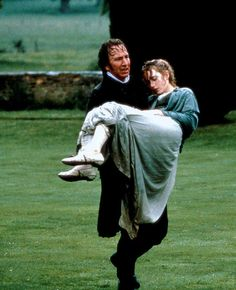 Colonel Brandon to the rescue. Alan Rickman and Kate Winslet in Sense and Sensibility. Adapted from the Jane Austen novel. Severus Hermione, Severus Rogue, Love Movie, Movie Tv, Fantasy Magic, Jane Austen Movies, Little Dorrit, Romance, Performing Arts