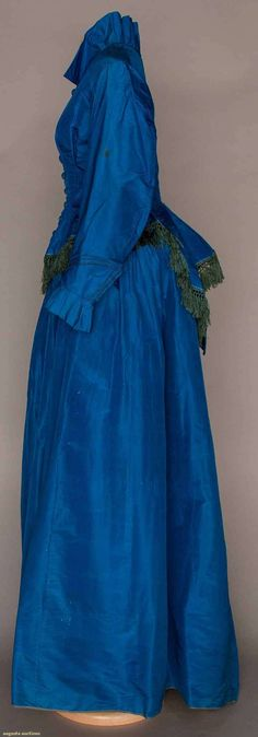 Afternoon Dress (image 2) | late 1860s | silk | Augusta Auctions | May 10, 2016/Lot 1024