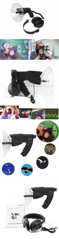 Surveillance Gadgets: Extreme Sound Amplifier Spy Listening Device Ear Bionic Birds Recording Watcher -> BUY IT NOW ONLY: $32.98 on eBay!