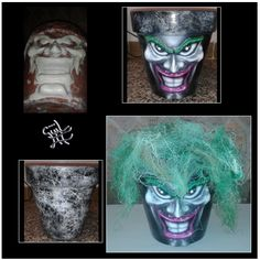 #macetas #flowerpots #paint #barro #terracota #decoración #handmade #hechoamano #art #artwork #güiliii