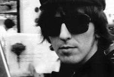 Super rare photograph of George Harrison looking ultra cool in his shades, taken in The Quarrymen, Hey Jude, Baby George, Best Friends For Life, Wife And Girlfriend, George Harrison, Beautiful Boys, Beautiful Things, Lady And Gentlemen