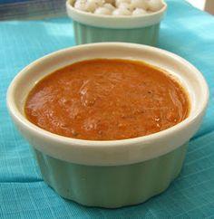 tomato chutney dip sauce