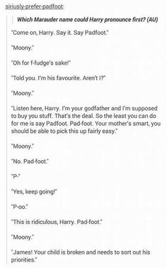 I understand this isn't in the books but seriously I wish this had happened. So funny!