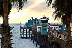 Oceanside California, ruby's on the pier was best place for sunset pics
