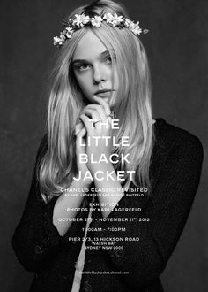 The Little Black Jacket // Photographic Exhibition About CHANEL's Classic Arrives in Sydney. - Yellowtrace