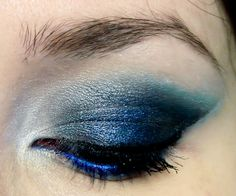 Smoky blue eye makeup http://www.youtube.com/watch?feature=player_embedded&v=0kSTH7x9-xA