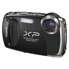 Fujifilm FinePix XP50 14MP Waterproof Digital Camera with 5x Optical Zoom - Black