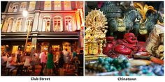 Discover Club Street and Chinatown