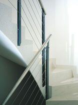 Geländer für Innenbereich / aus Metall / Einfahrts Barren