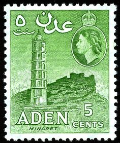 -george Vi And Elizabeth Ii Collection Aden Aden (until 1967) Stamps