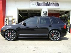 2008 Porsche Cayenne GTS by Audio Mobile in La Crosse WI . Click to view more photos and mod info.