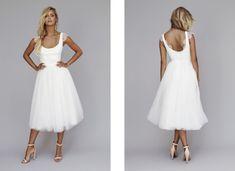 Robes de mariée chic rock / Wedding dresses chick rock > Modèle Nina  Source: Lookbook 2013 | Rime Arodaky