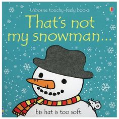 That's Not My Snowman #booktrotters #homelibrary