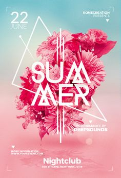 tropical summer party flyer template psd download here https