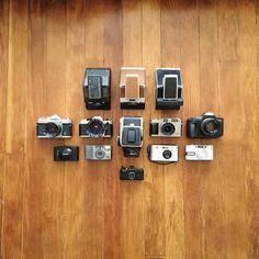 Cameras / photo by Taylor Hoff