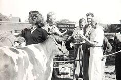 Jackie in 1948 at Hammersmith ♡❀♡✿♡❁♡✾♡✽♡❃♡❀♡ Farmhttp://en.wikipedia.org/wiki/Hammersmith_Farm