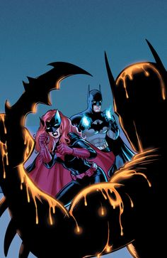 Batman and Batwoman  by Cameron Stewart