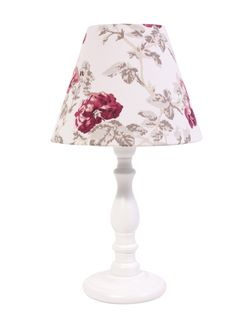 Laura ashley fabric lampshade lilac design eau de nil green on laura ashley giftware roses floral lamp with shade mozeypictures Choice Image
