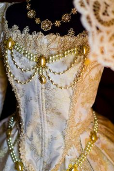 Princess Cinderella Deluxe Shakespeare in Love Elizabethan Fantasy Gown Custom. $1,100.00, via Etsy.