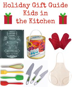 Holiday Gift Guide: Kids in the Kitchen