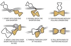 How to tie a bow tie from Rock Avenue