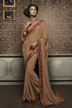 Delectable Occasional Wear Designer Saree