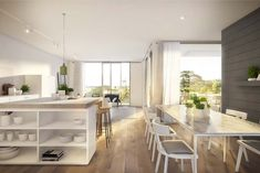 Hecker Guthrie and Icon Co have cleverly designed Garden House. Inner city apartments that turn inside living out in Sydney& waterloo. Interior Design Magazine, Interior Design Awards, Home Design, Hecker Guthrie, Magazin Design, Home Selling Tips, Beautiful Kitchens, Best Interior, Kitchen Dining