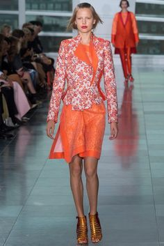 Antonio Berardi Spring 2015 Ready-to-Wear - Collection - Gallery - Look 1 - Style.com