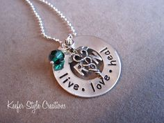 Hand Stamped Nurses necklace by KeeferStyleCreations on Etsy, $40.00