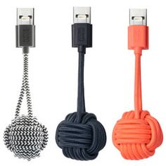 You won't get far without your phone, but phone batteries these days won't get you far. Native Union turns a USB charging cable into a stylish key chain. Remove the cable from your key chain and you can charge at any computer or USB outlet.  Don't worry about forgetting your phone charger again, as long as you remember your keys that is!