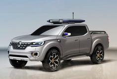 Cars - Renault Alaskan Concept : prémisse du second pick-up au losange ! - http://lesvoitures.fr/renault-alaskan-concept/