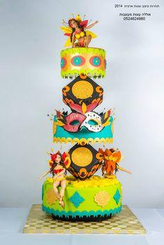 אוללה - עוגות מעוצבות - יום הולדת
