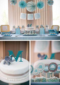 Idée de buffet d'anniversaire : théme #elephant