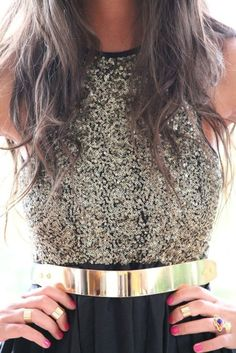 Sparkly top!