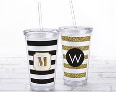 Classic Acrylic Tumbler with Personalized Insert