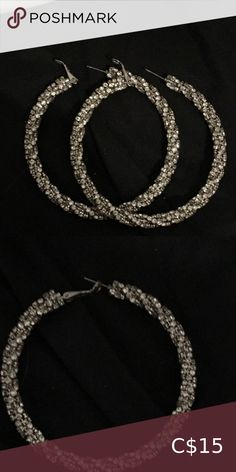 Check out this listing I just found on Poshmark: Glittery big hoop earrings. #shopmycloset #poshmark #shopping #style #pinitforlater #Forever 21 #Jewelry Big Earrings, Hoop Earrings, Forever 21, Shop My, Check, Closet, Shopping, Jewelry, Style