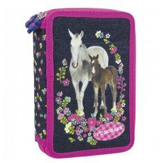 Lovas tolltartó felszerelt, emeletes - Love Horse - Gyerekajándék Lunch Box, Bento Box