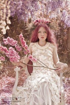 flower queen pastels