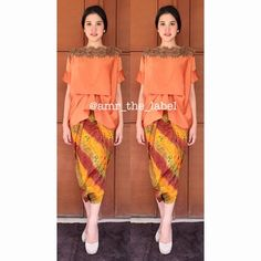 "113 Likes, 9 Comments - ❤️OFFICIAL ACCOUNT❤️ (@amr_the_label) on Instagram: ""Makka top  All size (fit to L) Price 550k Note: orange READY STOCK #amrthelabel #premiumkaftan…"""