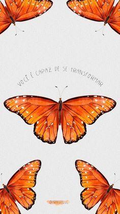 Butterfly Wallpaper, Rose Wallpaper, Wallpaper Iphone Cute, Butterfly Art, Wallpaper Notebook, Cool Art Drawings, Backrounds, Best Vibrators, Orange Aesthetic