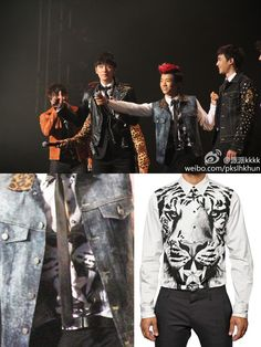 Dsquared2 Cotton Tiger Printed Shirt