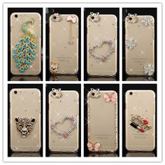 Luxury Bling Diamond Rhinestone Cover Case For Apple Iphone 5 5s 6 6s 7  Plus Crystal 96147fde0e0a